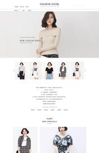 [B1221-1] 舒适于我,风韵怡人-女装、女包、女鞋类等女装行业专用旺铺专业版模板