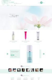 [B710-1] FLOWER-化妆品类行业专用旺铺专业版模板