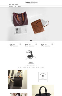 [B956-1] 魅力女人的绝招-鞋包行业通用旺铺专业版模板